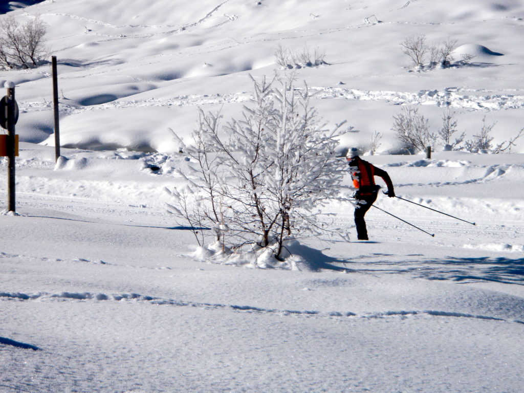 Cross Country skier Meribel